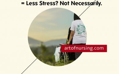 Better Nurse to Patient Ratios = Less Stress? Not Necessarily.